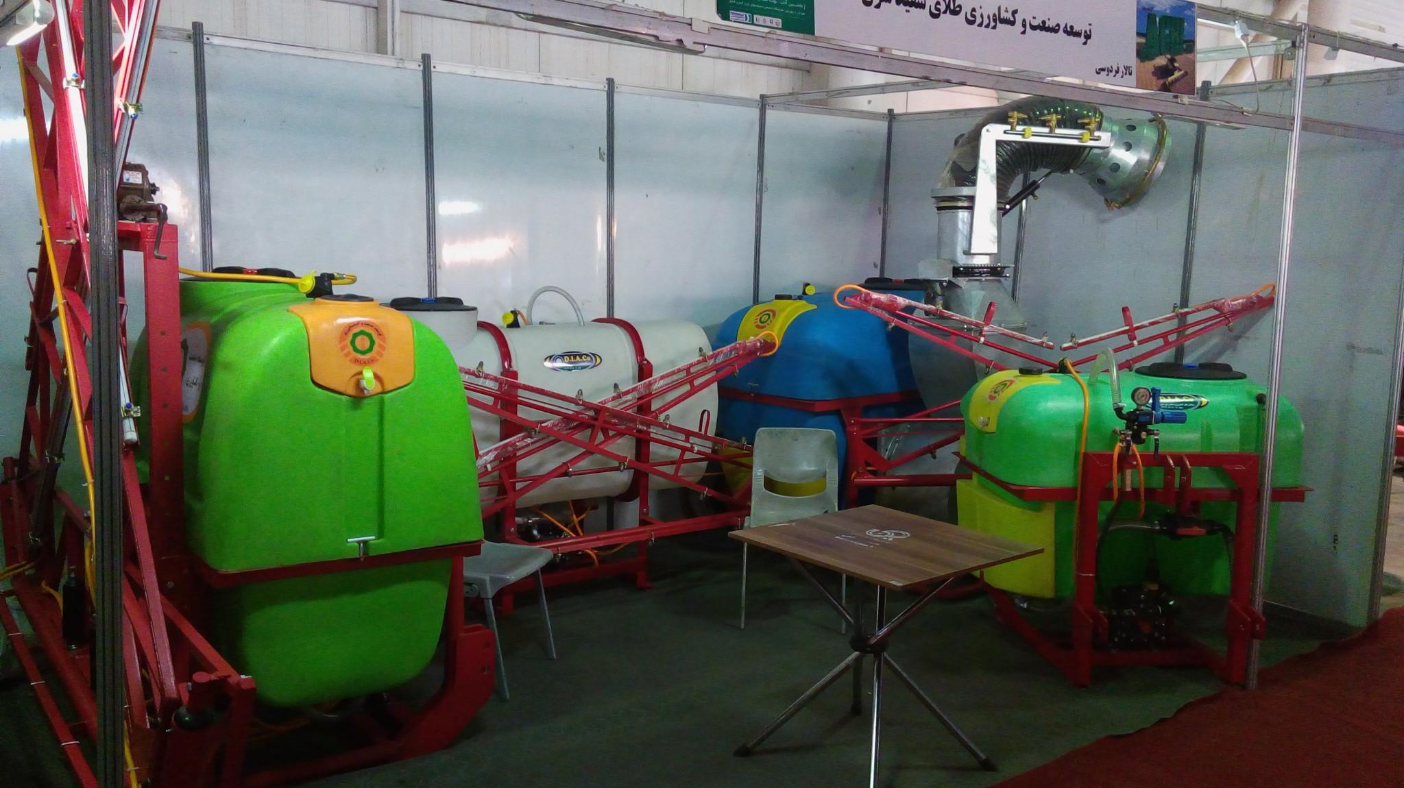 غرفه شرکت توسعه طلای سپید شرق در نمایشگاه بین المللی مشهد