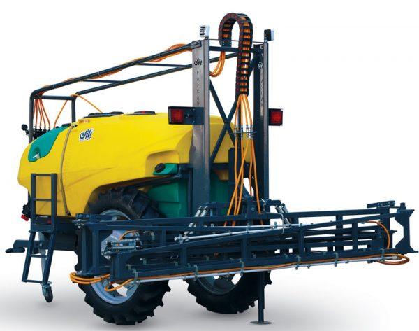 سمپاش و محلول پاش 2000 لیتری کششی نیم هیدرولیک-شرکت توسعه صنعت وکشاورزی طلای سپید شرق(پاژن)